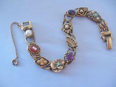 Goldette Victorian Revival Bracelet from Vintage Jewelry Lounge on Ruby Lane