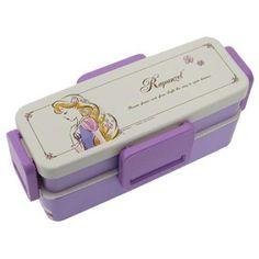 Japan-Lunch-Box-2-tier-Bento-Box-DISNEY-TANGLED-Rapunzel-free-shipping-NEW