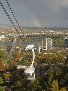 Portland Aerial Tram - Great for tourists and locals alike to get a great view of Portland, Oregon