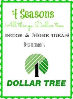 Seasonal archives of all things dollar tree decor, craft ideas and More!