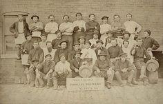 Phoenix Brewery workers, ca. 1870
