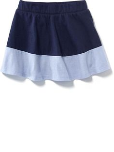 Color-Block Jersey Skort for Baby