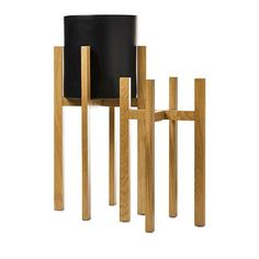 Home Republic - Wooden Stands Oak - Homewares - Pots & Plants - Adairs Online Custom Furniture, Table Furniture, Home Republic, Black Basket, Rattan Basket, Living Room Tv, Quilt Cover Sets, Furniture Collection, Home Decor Styles