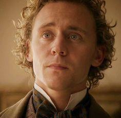 Tom Hiddleston as #WilliamBuxton in the #CranfordChristmasSpecial #BBC