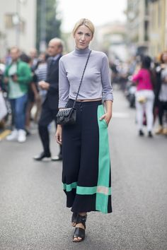 STYLE INSPIRATION – CULOTTES PANTS