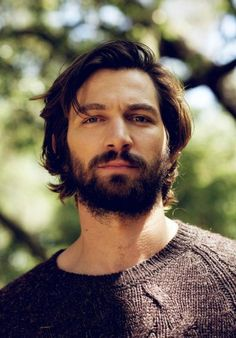 Michiel Huisman - Michiel Huisman is a Dutch actor and musician who sings, plays the guitar and writes his own music. Michiel Huisman played with the band Fontane, recording music for some of the films he starred in, including Costa! Pretty Men, Gorgeous Men, Michael Huisman, European Men, Wavy Hair Men, Moustaches, Beard Styles, Facial Hair, Bearded Men