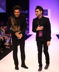 "Bringing glamour from the Gothic, Byzantine and Baroque eras onto the ramp at Lakme Fashion Week Winter/Festive 2013, Rajat Tangri's collection called ""Dark Ages"" aptly recreated the drama in colours, styles and forms."