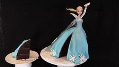The Elsa cake frosting and decorations are probably the most challenging part of this cake. Description from htct.bluevalleytech.com. I searched for this on bing.com/images