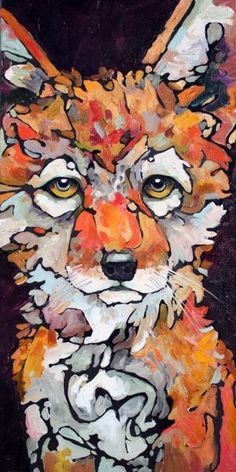 'Pocket' red fox art by -Amy Ringholz Art And Illustration, Fuchs Illustration, Wallpapers Geek, Fantastic Fox, Fox Art, Spirit Animal, Pet Portraits, Watercolor Art, Painting Abstract