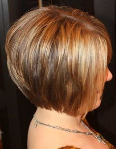 Love the hair short hairstyle Short Bob Hair Styles 2013 for short hair hair Short Hairstyles Over 50, Short Bob Haircuts, Stacked Haircuts, Medium Hairstyles, Hair Styles 2014, Short Hair Styles, Bride Hairstyles, Cool Hairstyles, Hairstyle Ideas