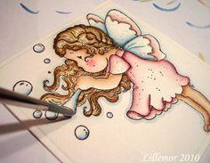Lillemors Magnoliablogg ♥: Distress tutorial