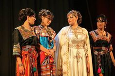 The traditional dress of tribal women in Algeria