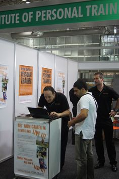 Want to become a Personal Fitness professional? The Institute of Personal Trainers were available to show you how