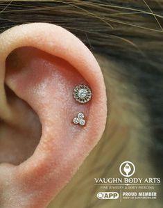 Rose gold piercing safe