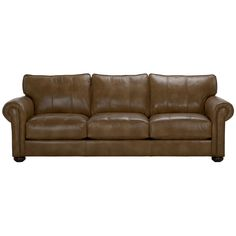 Richmond Leather Sofa - Ethan Allen we ordered this in a medium gray to group  sc 1 st  Pinterest : ethan allen leather sectional - Sectionals, Sofas & Couches