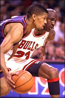 Kevin Johnson vs MJ