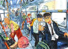 인트로만화학원 Cat Drawing Tutorial, Bus Art, Composition Painting, Gcse Art Sketchbook, Human Figure Drawing, Ap Studio Art, Perspective Art, Art Inspiration Drawing, Detail Art
