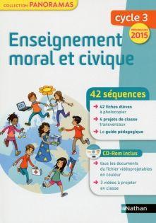 Enseignement moral et civique Cycle 3 - Fichier à photocopier + CD-Rom - 9782091228396 | Éditions Nathan