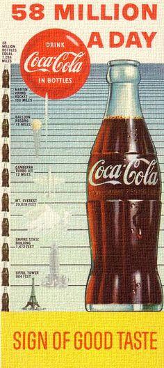 58 Million A Day - Coca Cola - 1957