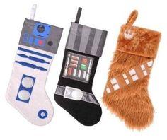 Meias de Natal do Star Wars.   27 ideias geek que vão fazer você querer decorar a casa para o Natal imediatamente
