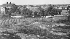 Se vår bildjämförelse över hur Tölö, Sörnäs och Kaisaniemi har förändrats sedan början av 1900-talet.