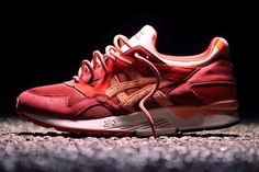 "Ronnie Fieg x Asics Gel Lyte V ""Volcano"" (Detailed Pics & Release Info) - EU Kicks: Sneaker Magazine Me Too Shoes, Men's Shoes, Nike Shoes, Roshe Shoes, Fancy Shoes, Nike Roshe, Marathon, Top 10 Shoes, Streetwear"