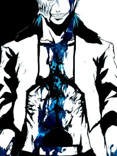 All hail the king. As of right now Grimmjow is probably stronger than any hollow that has survived the Quincy Invasion. Bleach Fanart, Bleach Manga, Bleach Characters, Anime Characters, Anime Nerd, Manga Anime, Shinigami, Manga Games, Anime Shows