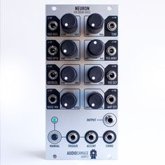 MATRIXSYNTH: Details on the New Audio Damage Neuron Eurorack Dr...