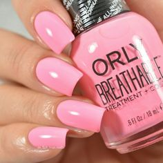 Orly Breathable Treatment + Color Happy and Healthy