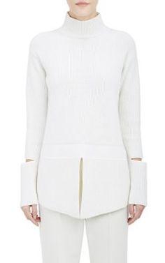 Stella McCartney Open-Side Sweater.