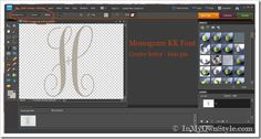 How To Make a Large Monogram The Easy Way | In My Own StyleIn My Own Style