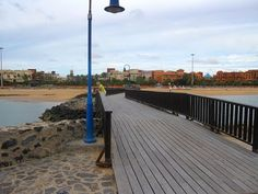 Places to see in ( Caleta de Fuste - Spain )  Caleta de Fuste is the largest community in the municipality of Antigua Las Palmas Spain on the island of Fuerteventura in the Canary Islands.   Caleta de Fuste is frequented by a variety of tourists and has n