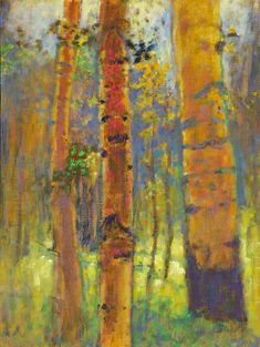 Rick Stevens Art - Things of the Earth Oil Painting Frames, Seascape Paintings, Cool Paintings, Oil Painting Abstract, Abstract Art, Painting Trees, Pastel Paintings, Pastel Art, Landscape Art