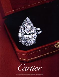 Cartier - Diamond Ring~~ World meet my best friend~~ LOL Diamonds are a girls best friend! (Best Friend Rings)