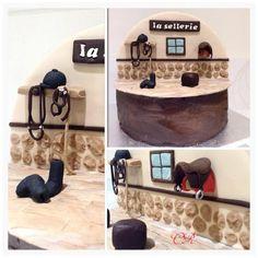 Gâteau Equitation