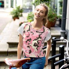 Cute Pink VSCO GIRL Stuff Crop T-shirt #VscoGirlTShirt #CropShirt #VscoGirlStuff #Cute #TShirt #Unisex #VscoStuff #Women #Stuff #pink