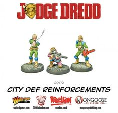 Tabletop Fix: Warlord Games - New Judge Dredd Releases