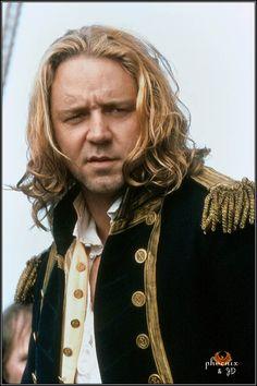 Russell Crowe as Captain Jack Aubrey