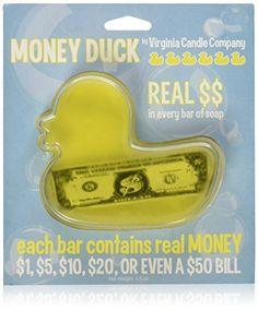 Duck Money Soap: Each Bar Contains a Real US Bill - Up to ..., http://www.amazon.com/dp/B00E9E4PAE/ref=cm_sw_r_pi_awdm_xs_q6HjybH8RF91P