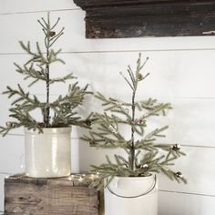 Need farmhouse winter decor inspiration? It& not complicated to add rustic winter charm to once your Christmas decorations are packed away. Farmhouse Christmas Decor, Country Christmas, Simple Christmas, Winter Christmas, All Things Christmas, Christmas Home, Christmas Trees, Xmas, Vintage Christmas