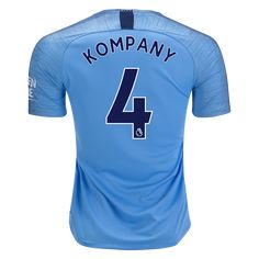 2d0a8d0c31d Nike Vincent Kompany Manchester City Home Jersey 18 19-3xl Manchester City