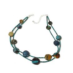 Jay King 2-Strand Turquoise Beaded Disc Necklace | HSN