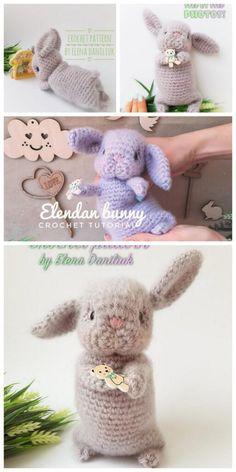 Crochet Bunny, Crochet For Kids, Crochet Animals, Knit Crochet, Amigurumi Toys, Crochet Patterns Amigurumi, Yarn Colors, Slip Stitch, Yarn Crafts