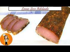 Lomo seco Adobado para comer como fiambre, companaje Ingredientes: - kilo y medio de cinta de lomo - sal gruesa - dos cucharadas de pimienta negra molida - t... Charcuterie, Carne Adobada, Chorizo Recipes, Sandwiches, Chorizo Sausage, Best Sandwich, Ham And Cheese, Smoking Meat, Pork Loin