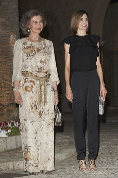 Queen Letizia of Spain Photos - Spanish Royals Host a Dinner for Authorities in Palma de Mallorca - Zimbio