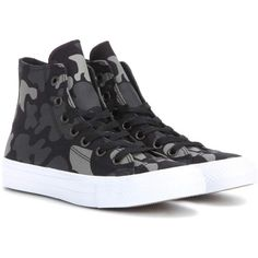 Converse Chuck Taylor All Star II High-Top Sneakers ($93) ❤ liked on Polyvore featuring shoes, sneakers, hi tops, converse shoes, converse trainers, converse footwear and star sneakers