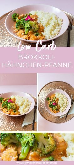 Einfaches Low Carb Gericht: Low Carb Brokkoli--Hähnchen-Pfanne How will need to healthful eating record become? Recipes Breakfast Video, Healthy Breakfast Recipes, Healthy Dinner Recipes, Healthy Snacks, Simple Snacks, Breakfast Ideas, Low Carb Köstlichkeiten, Plat Simple, Chicken Broccoli