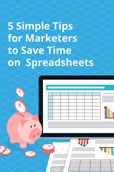 Don't waste your work hours fiddling with clunky spreadsheets! These quick excel tips will help you save you both time and sanity! You Working, Save Yourself, Marketing, Tips, Counseling