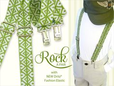No-Slip Kid Friendly Suspenders with New Dritz Fashion Elastic   Sew4Home - Fast, easy & inexpensive to make!