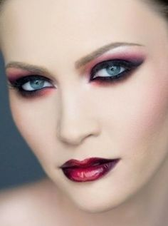 beautiful red makeup - which shade of red do you like most?